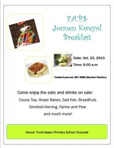 Jounen Kweyol Breakfast